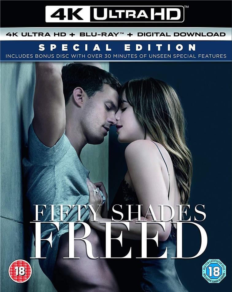 Fifty Shades Freed (2018) (4K Ultra HD + 2 Blu-rays)