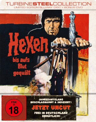 Hexen bis aufs Blut gequält (1970) (Turbine Steel Collection, Limited Edition, Blu-ray + DVD)