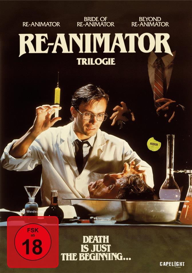 Re-Animator 1-3 (Digipack, 3 DVDs)