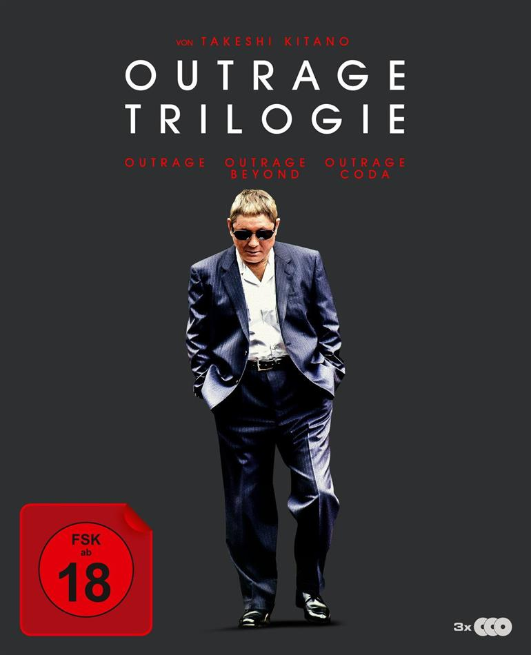 Outrage 1-3 (Digipack, 3 Blu-rays)
