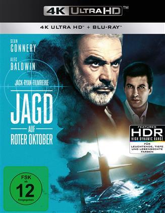 Jagd auf Roter Oktober (1990) (4K Ultra HD + Blu-ray)