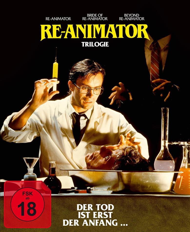Re-Animator 1-3 (Digipack, 3 Blu-rays)