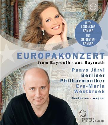 Berliner Philharmoniker, Paavo Jaervi & Eva-Maria Westbroek - European Concert 2018 (Euro Arts)
