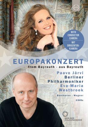 Berliner Philharmoniker, Paavo Jaervi & Eva-Maria Westbroek - European Concert 2018 from Bayreuth (Euro Arts)