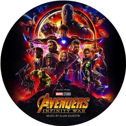 Alan Silvestri - Avengers - Infinity War - OST (Picture Disc, LP)
