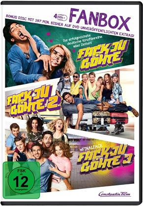 Fack Ju Göhte 1-3 - Fanbox (4 DVDs)