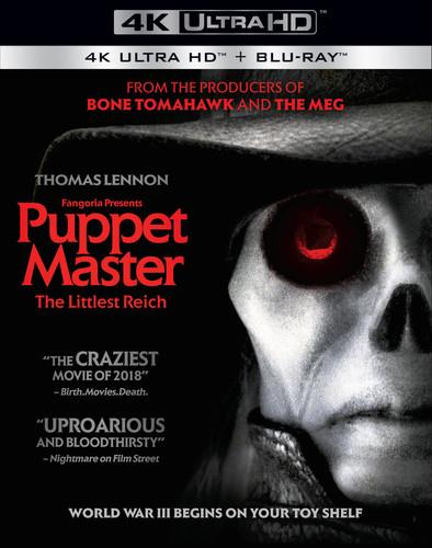 Puppet Master - The Littlest Reich (2018) (4K Ultra HD + Blu-ray)