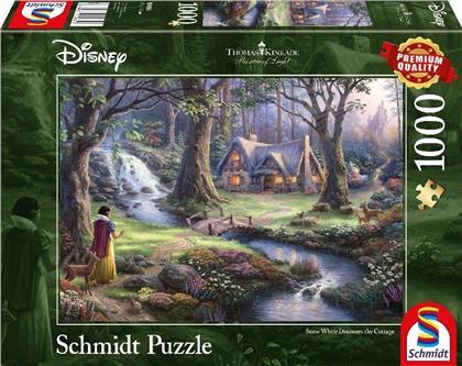 Thomas Kinkade: Disney Schneewitchen - 1000 Teile Puzzle