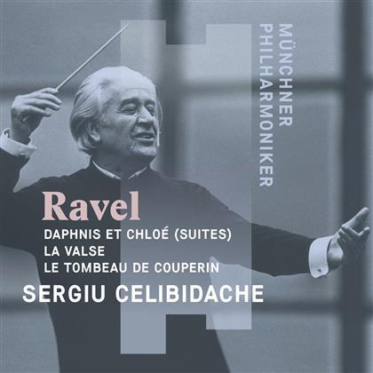 Maurice Ravel (1875-1937), Sergiu Celibidache & Münchner Philharmoniker - Daphnis Et Chloe, La Valse, Le Tombeau de Couperin (Digipack)