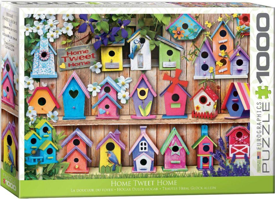 Home Tweet Home: Bird Houses - 1000 Piece Puzzle