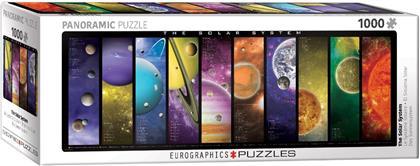 Das Sonnensystem - 1000 Teile Panorama Puzzle