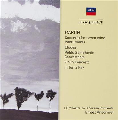 Frank Martin (1890-1974), Ernest Ansermet & L'Orchestre de la Suisse Romande - Martin: Orchestral Works (Eloquence, 2 CDs)