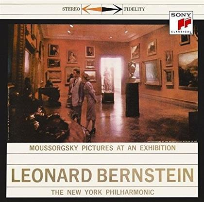 Modest Mussorgsky (1839-1881), Leonard Bernstein (1918-1990) & New York Philharmonic Orchestra - Pictures At An Exhibition (Japan Edition, Limited Edition)