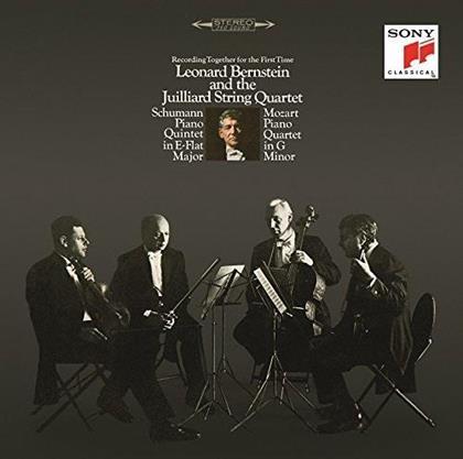 Juillard String Quartet, Robert Schumann (1810-1856), Wolfgang Amadeus Mozart (1756-1791) & Leonard Bernstein (1918-1990) - Piano Quintets E-Flat Major & G Minor (Japan Edition, Limited Edition)