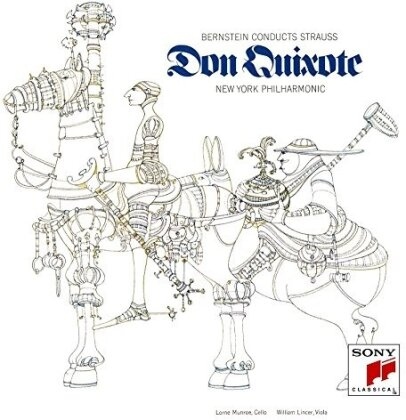 Leonard Bernstein (1918-1990), Richard Strauss (1864-1949) & New York Philharmonic Orchestra - Don Quixote (Japan Edition, Limited Edition)