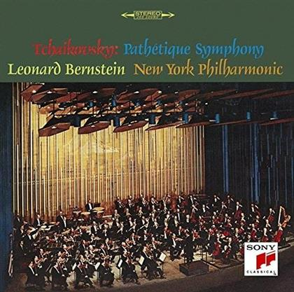 """Peter Iljitsch Tschaikowsky (1840-1893), Leonard Bernstein (1918-1990) & New York Philharmonic Orchestra - Symphony No. 6 """"Pathétique"""" (Japan Edition, Limited Edition)"""
