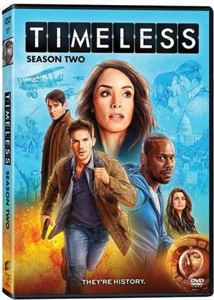 Timeless - Season 2 (3 DVDs)