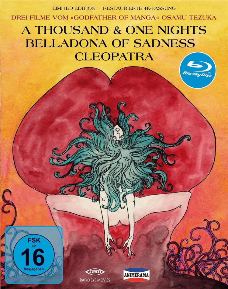 Animerama A Thousand One Nights Belladonna Of Sadness Cleopatra 3 Blu Rays Cede Com