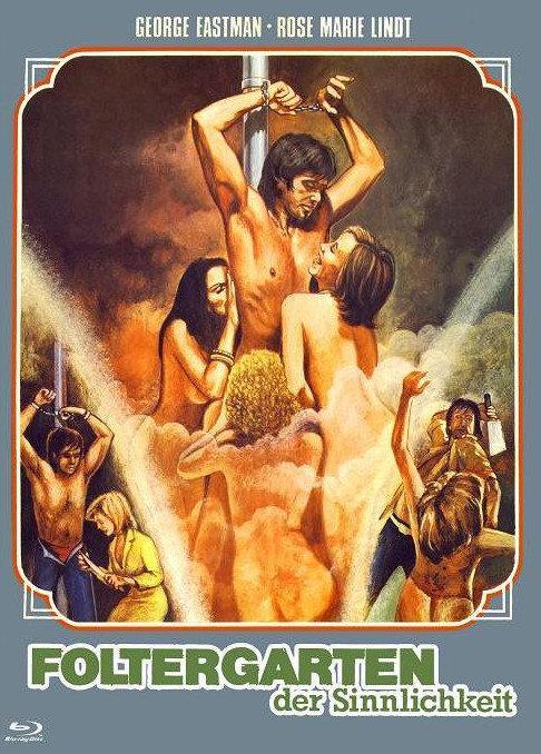 Foltergarten der Sinnlichkeit (1975) (Cover A, Eurocult Collection, Limited Edition, Mediabook, Uncut, Blu-ray + DVD)
