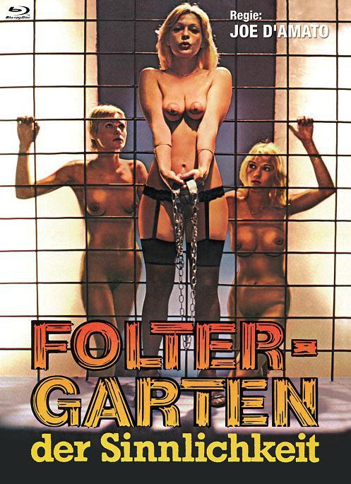 Foltergarten der Sinnlichkeit (1975) (Cover B, Eurocult Collection, Limited Edition, Mediabook, Uncut, Blu-ray + DVD)