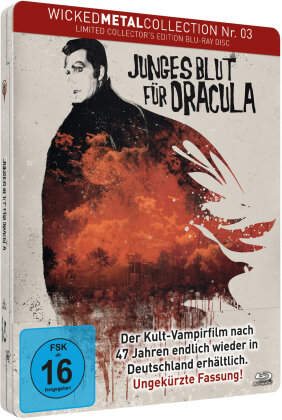 Junges Blut für Dracula (1970) (Wicked Metal Collection, FuturePak, Collector's Edition, Limited Edition, Steelbook)