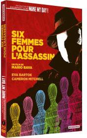 Six femmes pour l'assassin (1964) (Schuber, Make My Day! Collection, Digibook, Blu-ray + DVD)