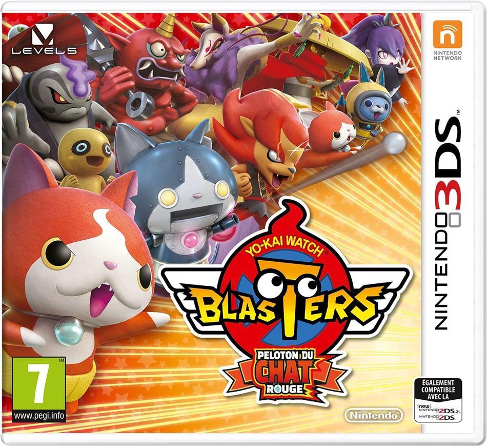 Yo-Kai Watch Blasters: Peloton du Chat rouge