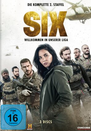 Six - Staffel 2 (3 DVDs)