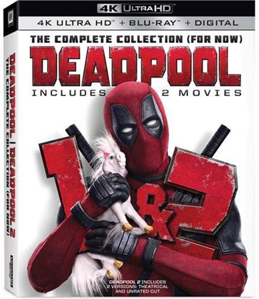 Deadpool 1+2 - The Complete Collection (for now) (2 4K Ultra HDs + 2 Blu-rays)