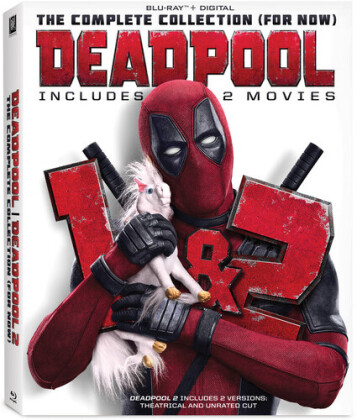 Deadpool 1+2 - The Complete Collection (for now) (Cinema Version, Unrated, 2 Blu-rays)