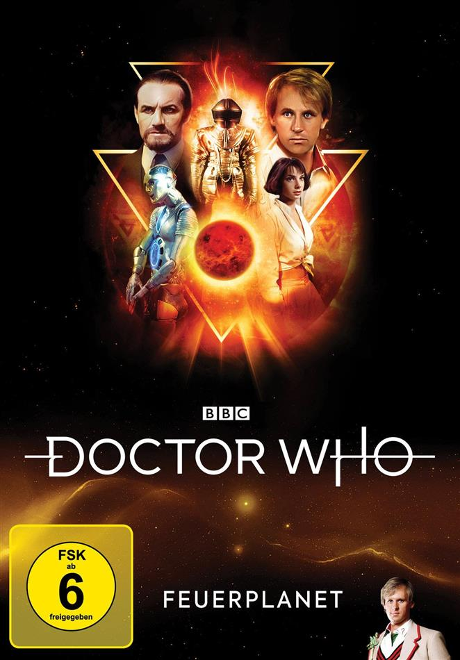 Doctor Who - Feuerplanet (2 DVDs)