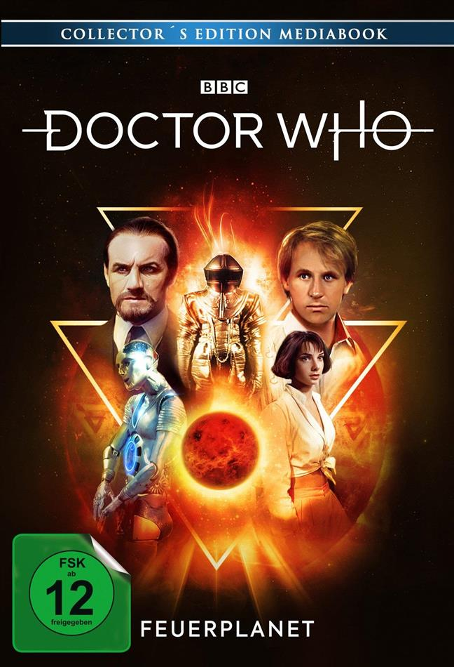 Doctor Who - Feuerplanet (Limited Edition, Mediabook, 2 DVDs)