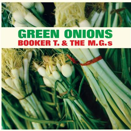 Booker T & The MG's - Green Onions (Wax Time, + Bonustrack, Transparent Green Vinyl, LP)