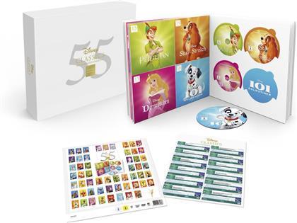 Disney 55 Classics - Die komplette Sammlung (Limited Edition, 55 DVDs)