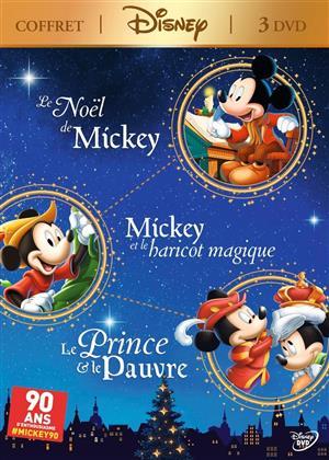 Coffret Mickey - Le Noël de Mickey & Le Prince e le Pauvre & Mickey et le haricot magique (3 DVDs)