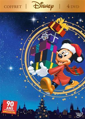 Coffret Mickey - La magie de noël & Le Calendrier de Noël & Il était une fois noël & Il était deux fois Noël (4 DVDs)