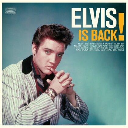 Elvis Presley - Elvis Is Back (Waxtime, Orange Vinyl, LP)