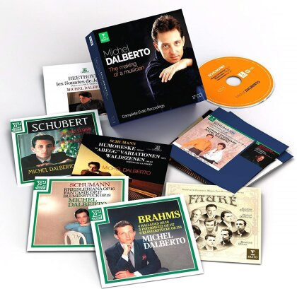 Michel Dalberto & Ludwig van Beethoven (1770-1827) - Michel Dalberto - The Making Of A Musician (17 CDs)