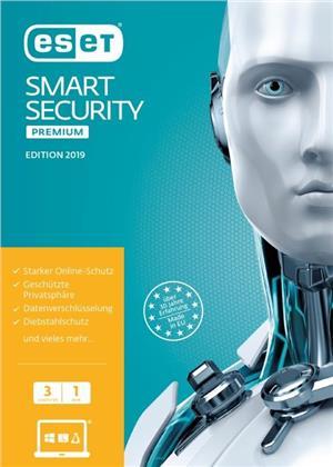 ESET Smart Security Premium 2019 Edition 3 User (FFP)