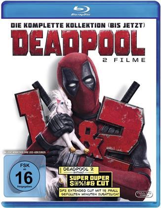 Deadpool / Deadpool 2 - Die komplete Kollektion (bis jetzt) (3 Blu-rays)