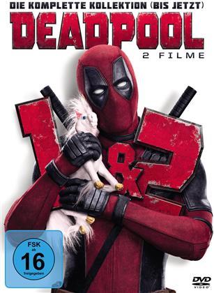 Deadpool / Deadpool 2 - Die komplette Kollektion (bis jetzt) (2 DVDs)
