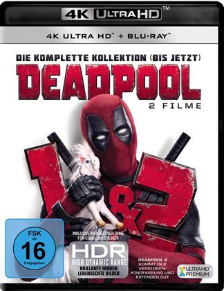 Deadpool / Deadpool 2 (3 4K Ultra HDs + 3 Blu-rays)
