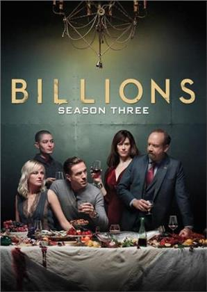 Billions - Season 3 (4 DVD)