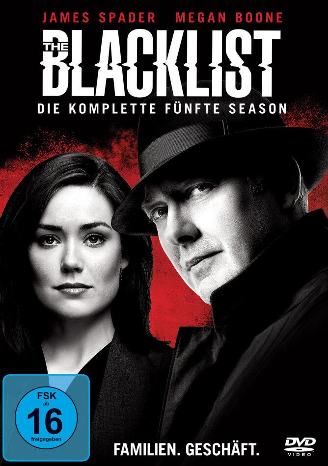 The Blacklist - Staffel 5 (6 DVDs)