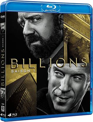 Billions - Saison 1 (4 Blu-ray)