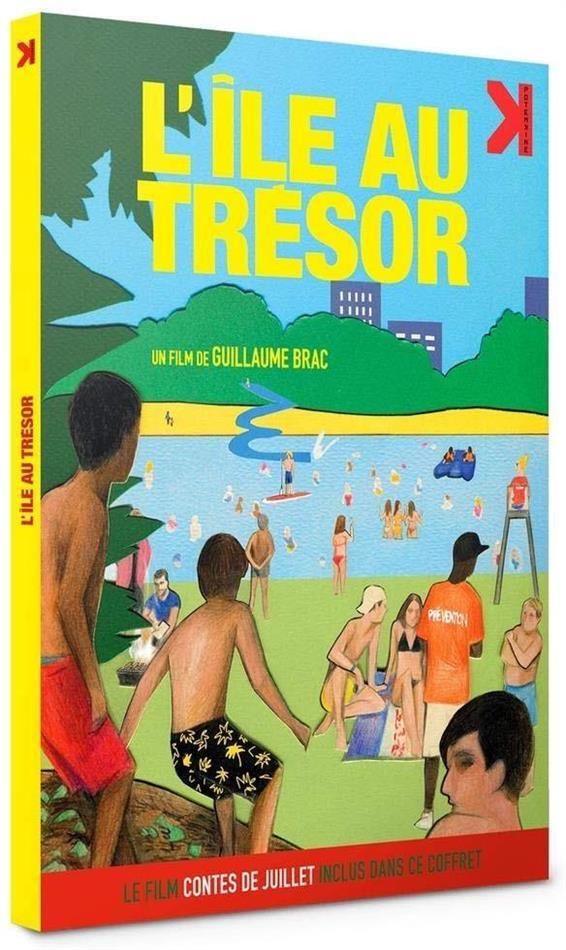 """L'île au trésor - + Le film """"Contes de juillet"""" inclus (2018) (Digibook, 2 DVDs)"""