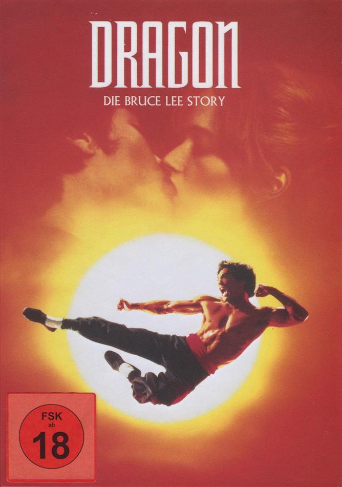 Dragon - Die Bruce Lee Story (1993) (Cover Original, Mediabook, Blu-ray + DVD)