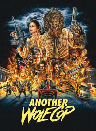 Another Wolfcop (2017) (Cover B, Mediabook, Blu-ray + DVD)