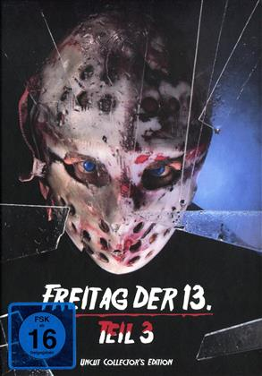 Freitag der 13. - Teil 3 (1982) (Cover C, Collector's Edition, Edizione Limitata, Mediabook, Uncut)