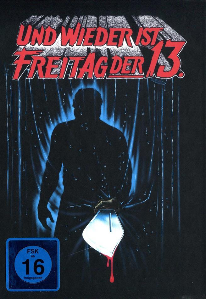 Freitag der 13. - Teil 3 - Und wieder ist Freitag der 13. (1982) (Cover B, Collector's Edition, Limited Edition, Mediabook, Uncut)